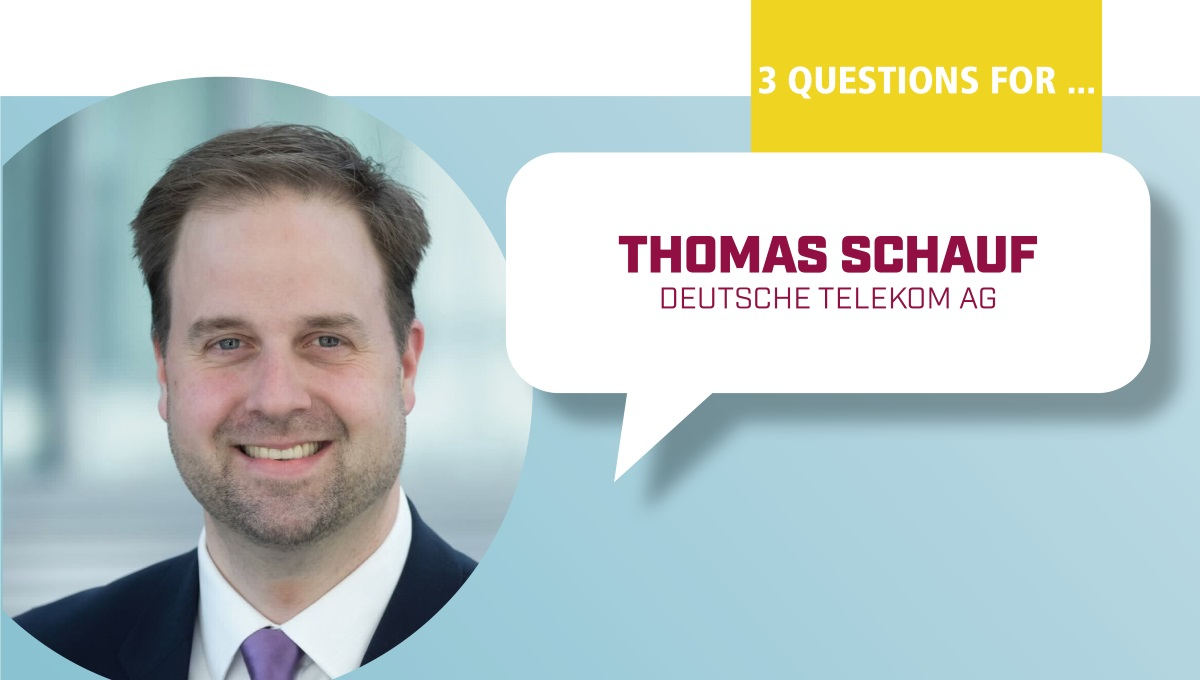 3 Questions for Thomas Schauf