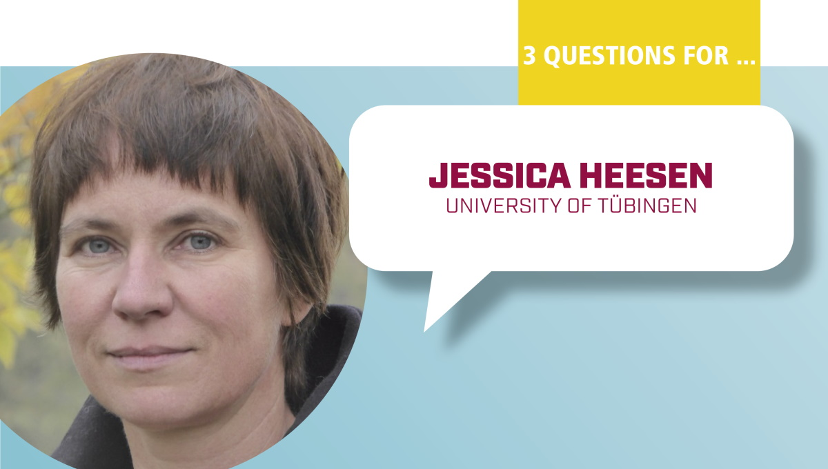 3 Questions for Jessica Heesen